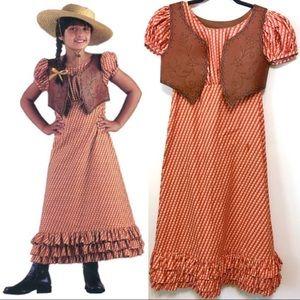 American Girl Josefina Summer Riding Dress & Vest